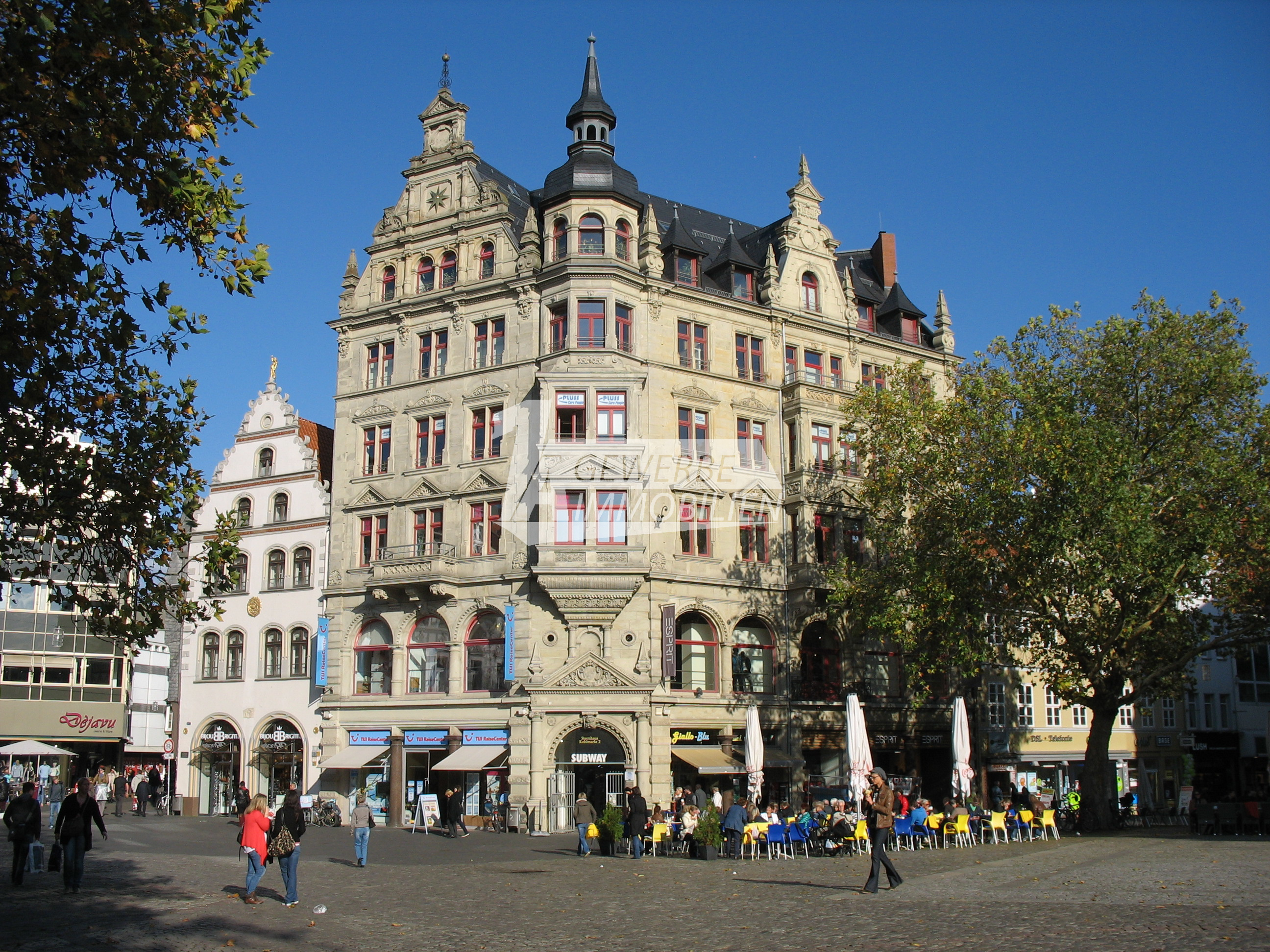 Moderne Ladenfläche in unmittelbarer Nähe vom Braunschweiger Kohlmarkt
