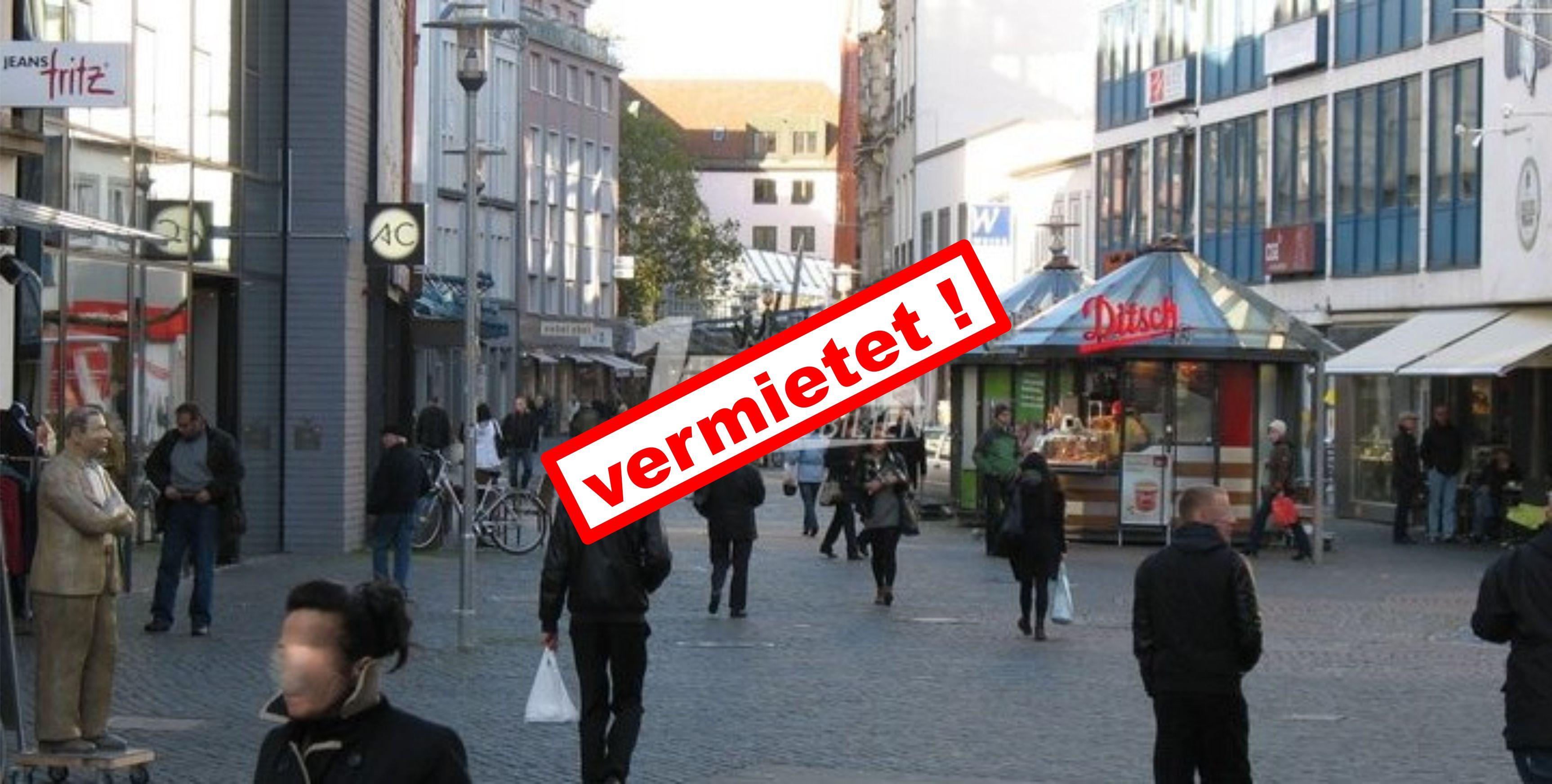 1A-Ladenfläche in der Braunschweiger Innenstadt